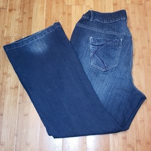 Lane Bryant Lightly Flared Jeans Size 20
